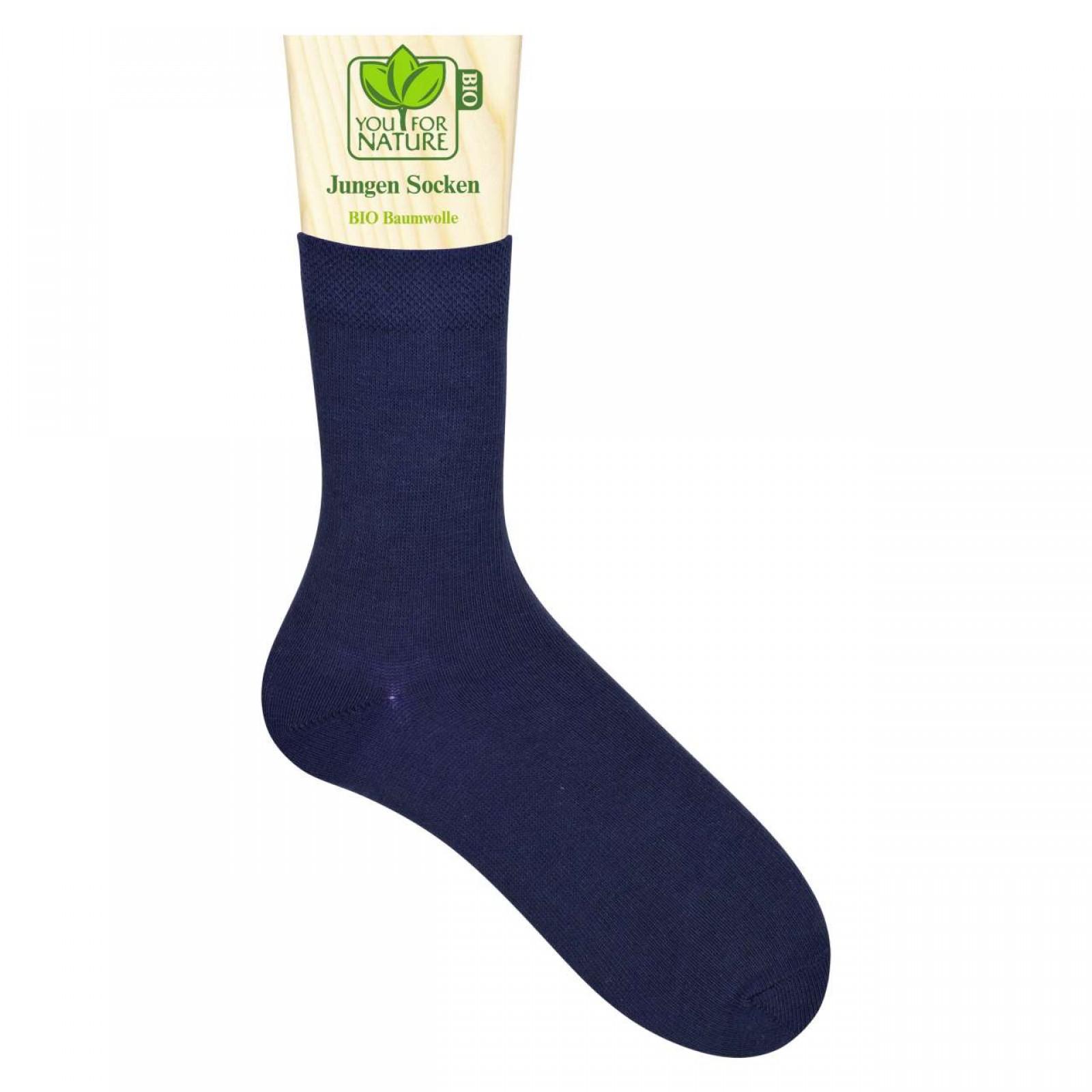 Jungen Socken/Strümpfe BIO Baumwolle | Kinder | YOU FOR NATURE